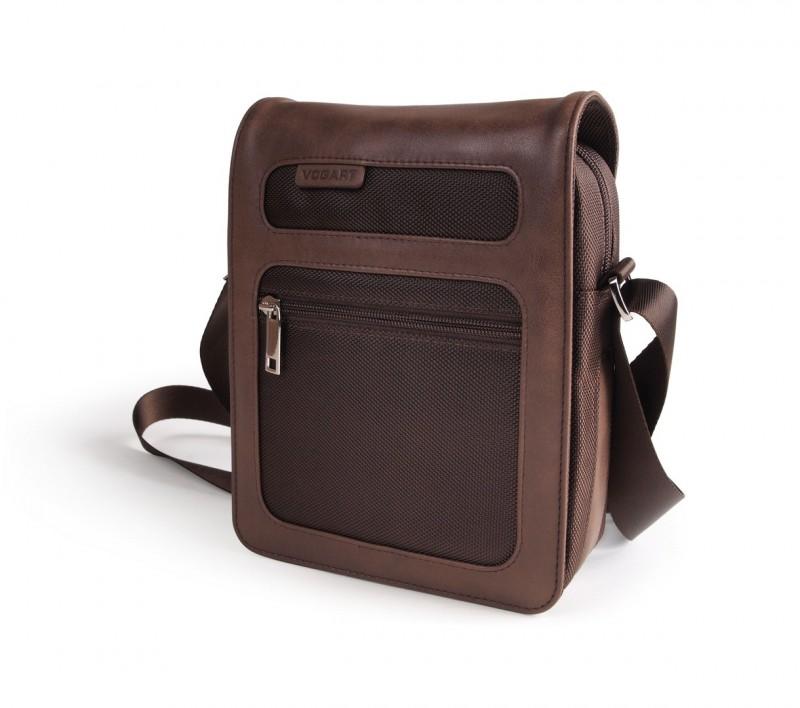 Vogart LEVY Report taška s klopou přes rameno (Brown)