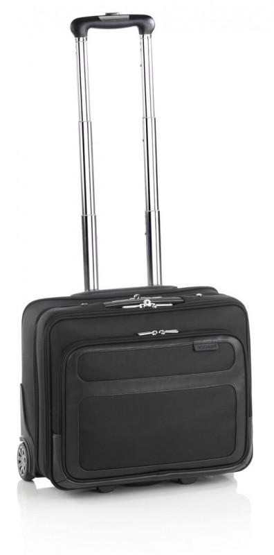 Vogart LEVY Pilotní kufr na kolečkách pro NTB 15 (Black)