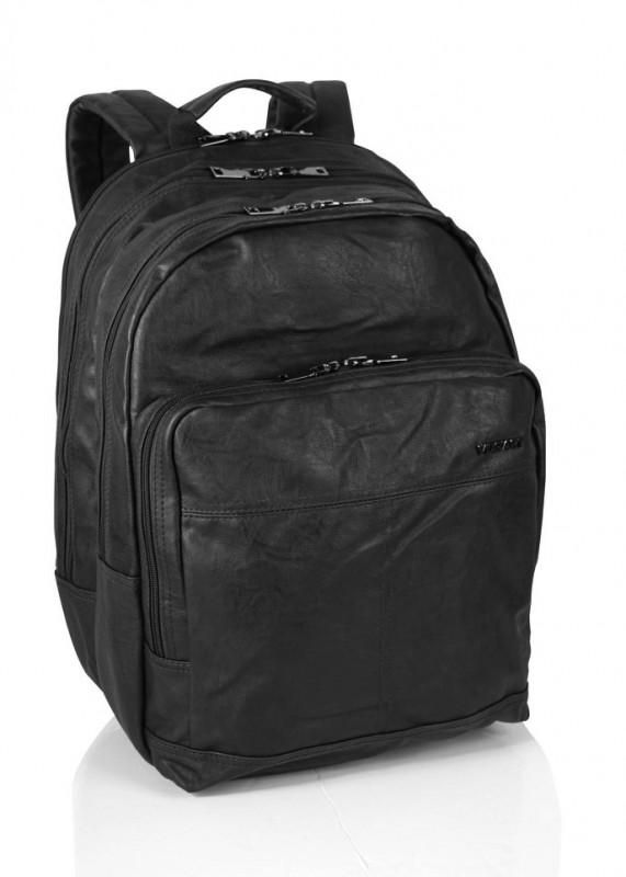 Vogart COOPER Prostorný batoh i na NTB 15 (Black)