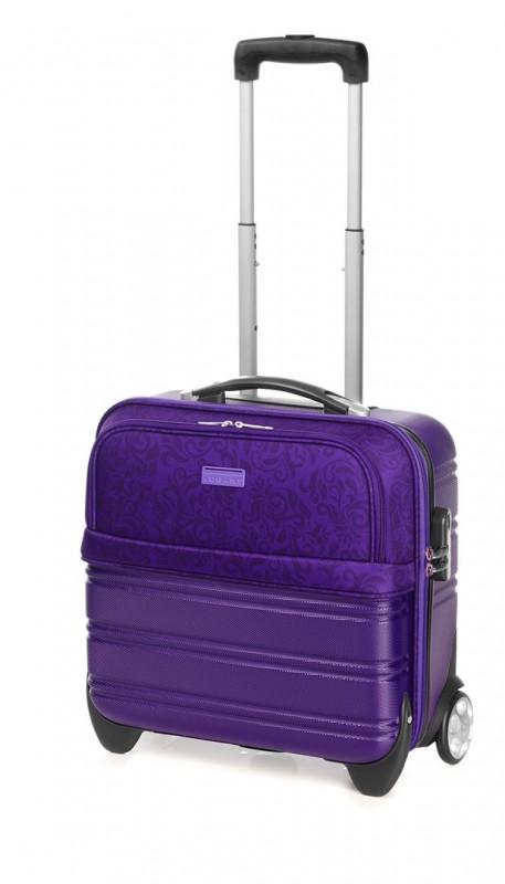 Vogart SELECT Pilotní kufr na kolečkách pro ženy (Lilac)