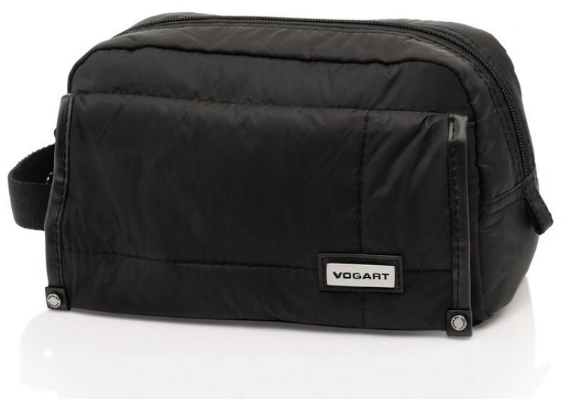 Vogart GRIGG Kosmetická taštička s kapsou (Black)