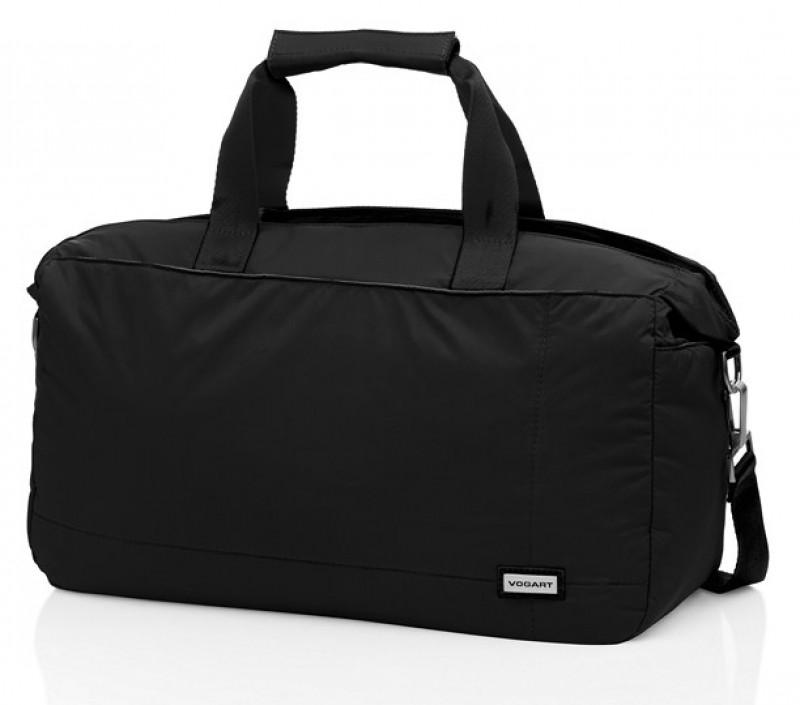 Vogart GRIGG Středně velká cestovní taška (Black)