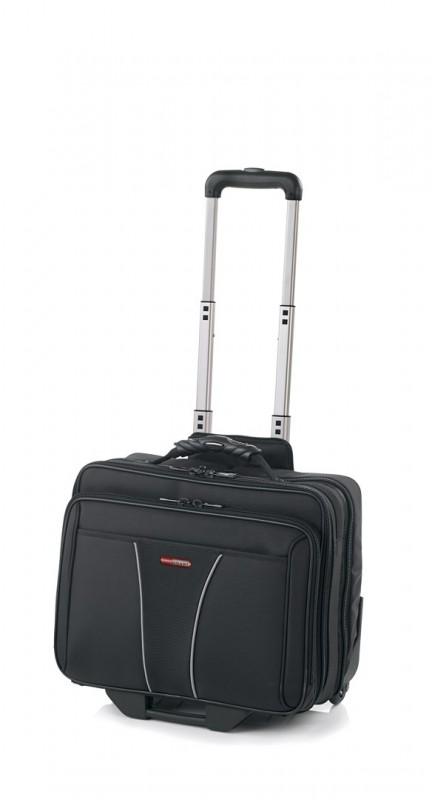 Vogart SUPERB Pilotní kufr na kolečkách pro NTB 17 (Black)