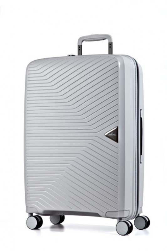 March GOTTHARD Elegantní kabinový kufr z odolného polypropylenu 55cm (Grey)
