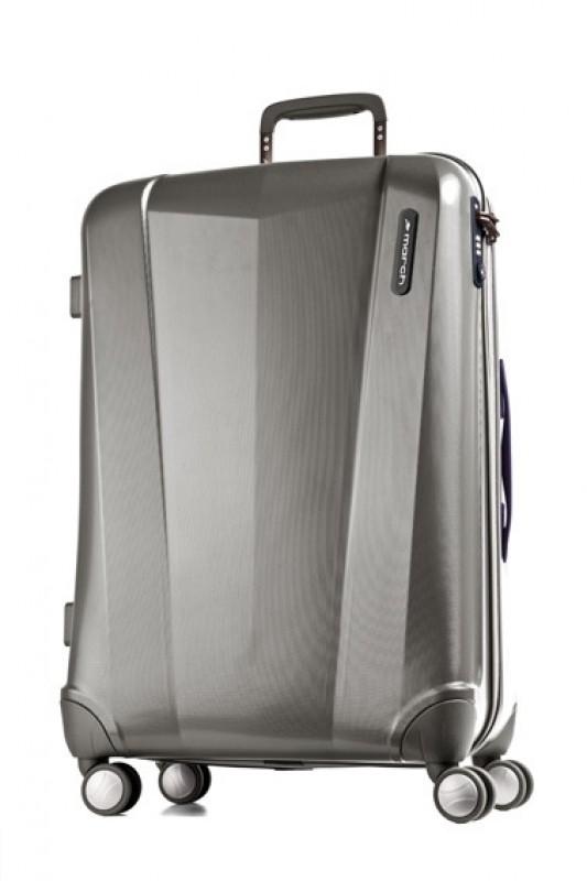 March VISION Elegantní kufr 4 kolečka 68 cm, M (Metal grey)