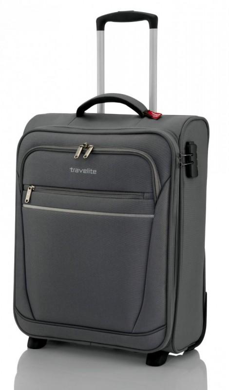 Travelite CABIN Textilní palubní kufr 2w (Anthracite)