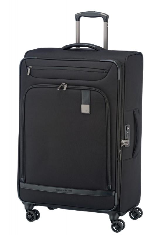 Titan CEO Moderní rozšířitelný business kufr 4w 78cm (Black)