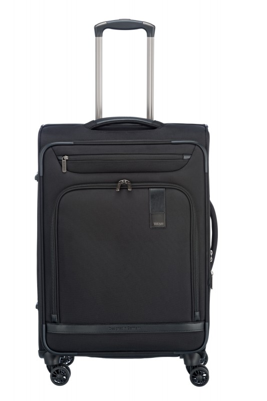 Titan CEO Moderní rozšířitelný business kufr 4w 68cm (Black)