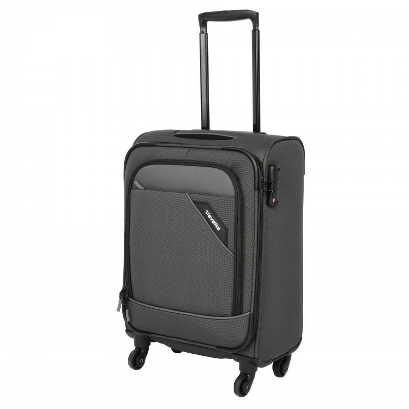 Travelite DERBY Nadčasový design palubního kufru 55cm (Anthracite)