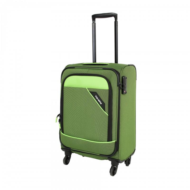 Travelite DERBY Nadčasový design palubního kufru 55cm (Green)