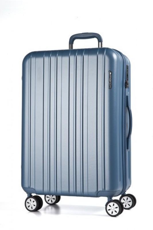 March OMEGA Jednoduchý velký kufr 78cm (Sky blue)