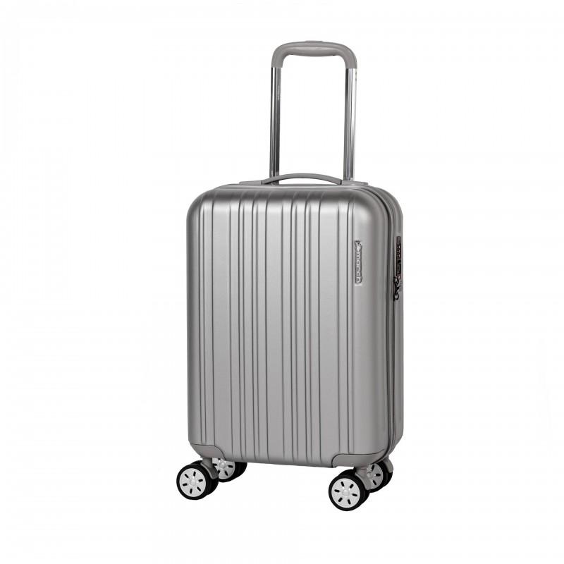 March OMEGA Jednoduchý palubní kufr 55cm (Silver)