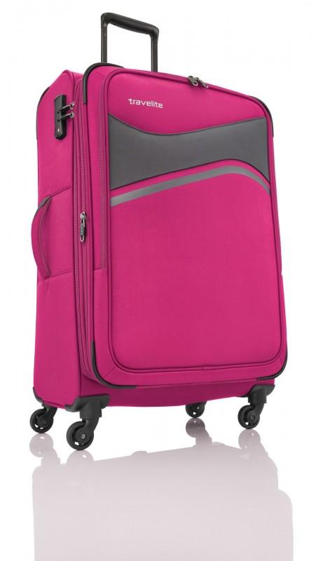 Travelite WAVE 4w L Pink