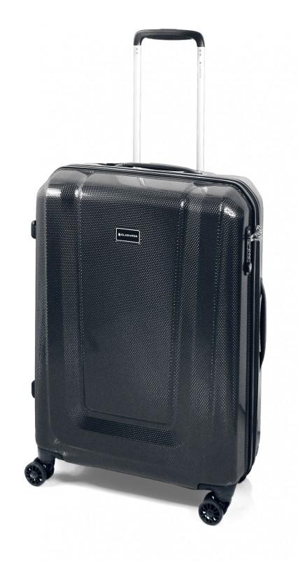 Gladiator U-MYTO Extra lehký velký polykarbonový kufr 77cm (Black)