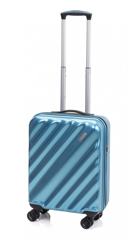 Gladiator GLAM Stylový palubní kufr s TSA 55cm (Azur)