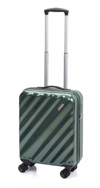 Gladiator GLAM Stylový palubní kufr s TSA 55cm (Green)