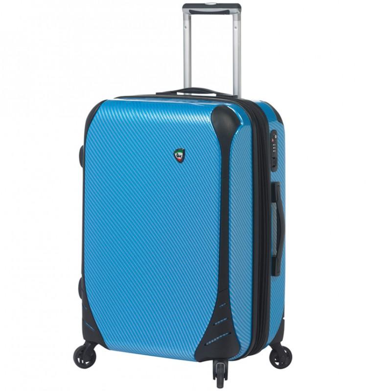 Mia Toro FIBRE Malý kufr 56 cm - Blue