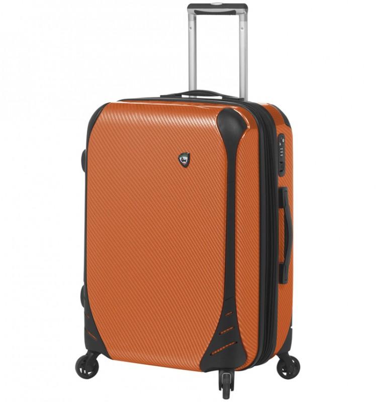 Mia Toro FIBRE Malý kufr 56 cm - Orange