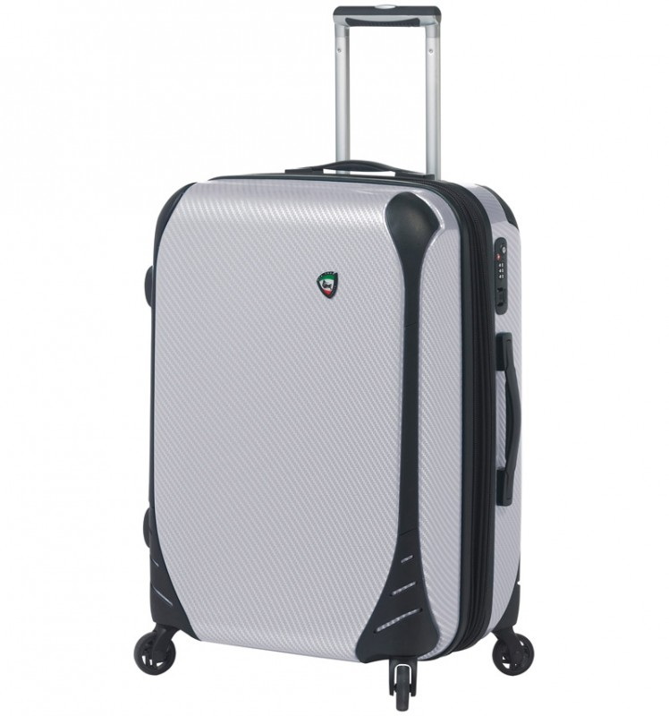 Mia Toro FIBRE Malý kufr 56 cm - White