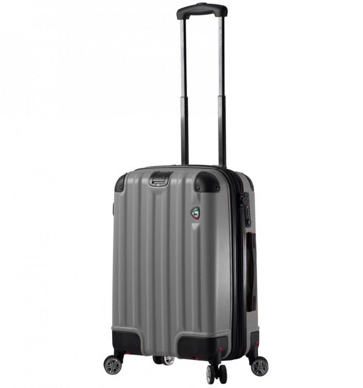 Mia Toro RUOTA Kabinový kufr se sklápěcími kolečky 60 cm - Charcoal