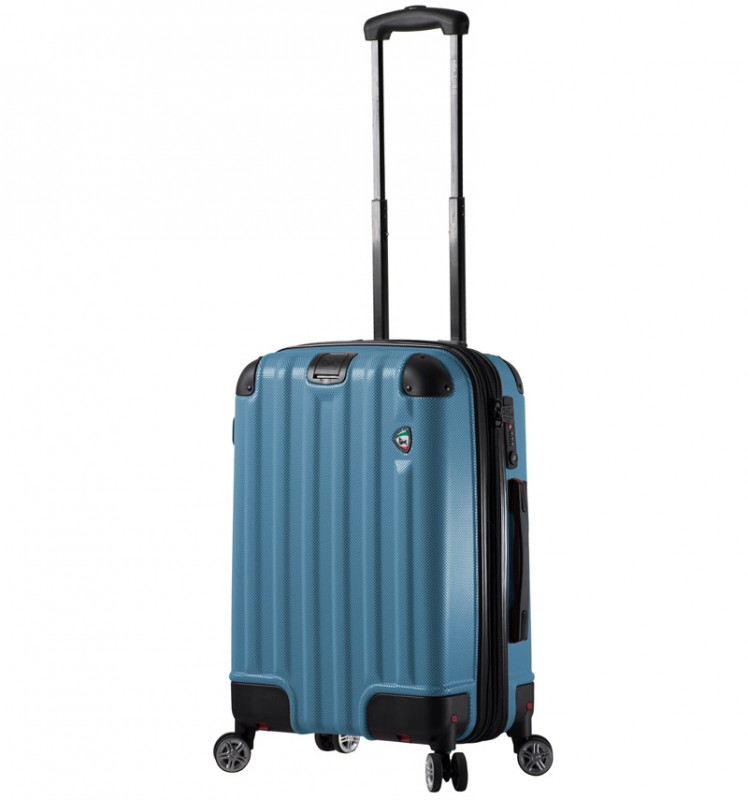 Mia Toro RUOTA Kabinový kufr se sklápěcími kolečky 60 cm - Blue