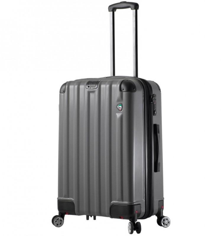 Mia Toro RUOTA Cestovní kufr se sklápěcími kolečky 70 cm - Charcoal