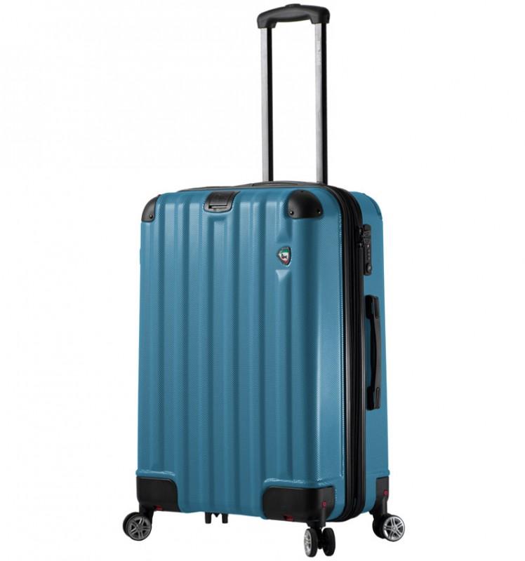Mia Toro RUOTA Cestovní kufr se sklápěcími kolečky 70 cm - Blue