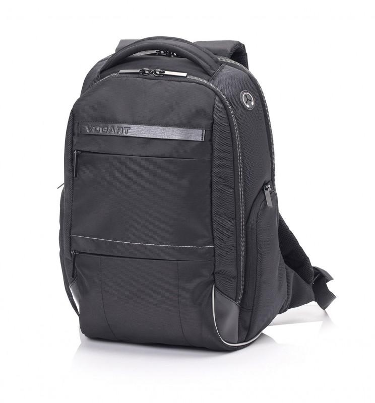 Vogart SUMMIT Městský rozšířitelný batoh na notebook 17, L (Black)