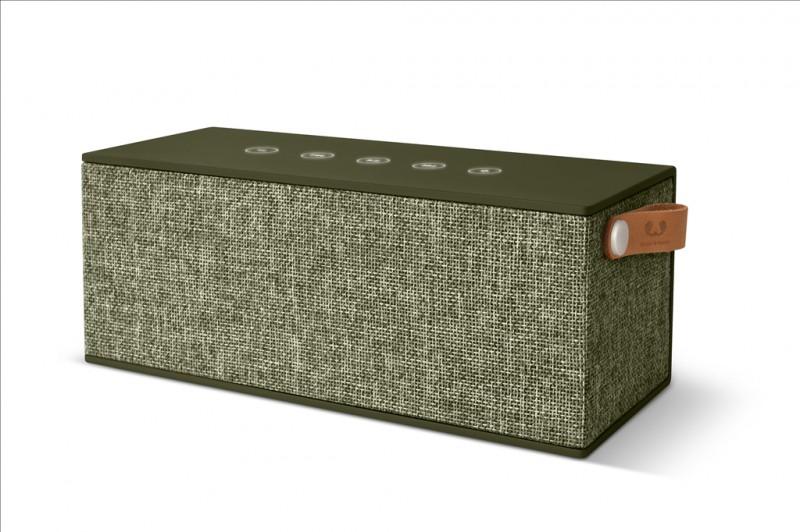 FRESH´N REBEL Rockbox Brick XL Fabriq Edition Bluetooth reproduktor (Army)