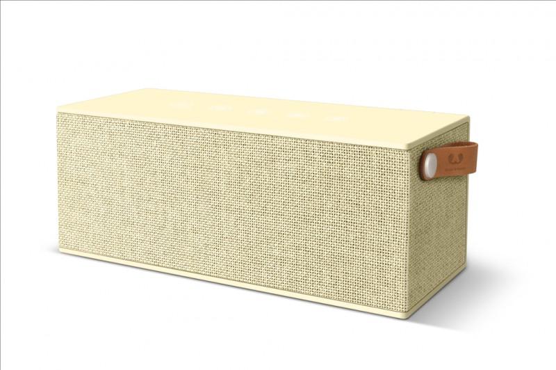 FRESH´N REBEL Rockbox Brick XL Fabriq Edition Bluetooth reproduktor (Buttercup)