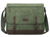 Troop London TRP0447 Brašna na notebook 16,5 - Olive