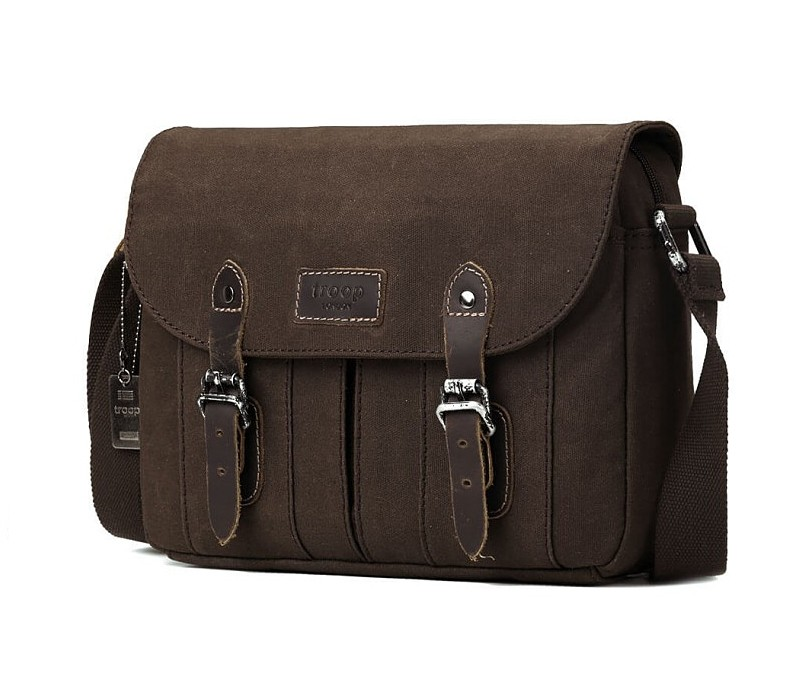 Troop London TRP0445 Brašna nejen pro tablet - Brown