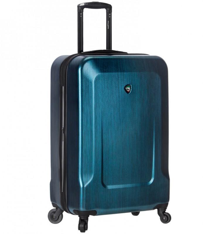 Mia Toro INGRIA Kabinový kufr s hliníkovou úpravou 55cm - Blue