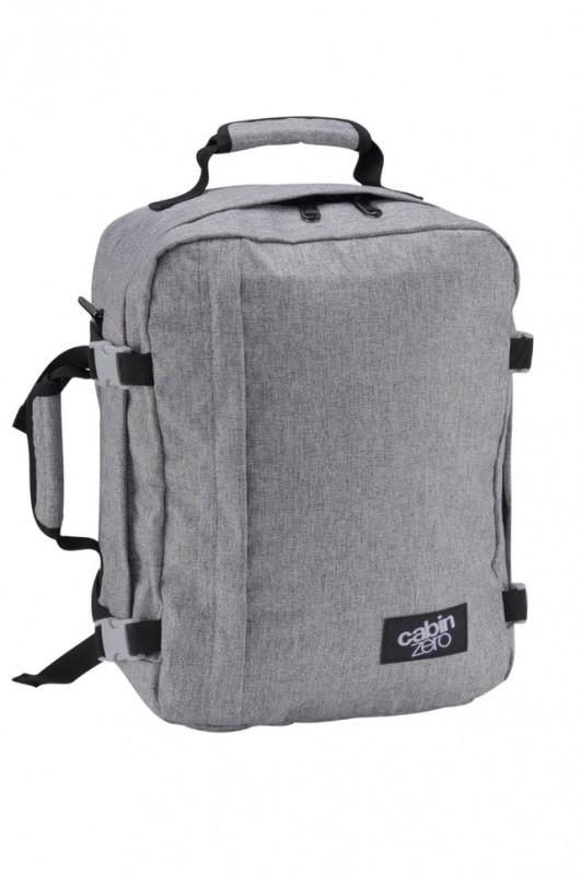 CabinZero MINI ULTRA-LIGHT Odlehčený batoh 28 l (Ice Grey)