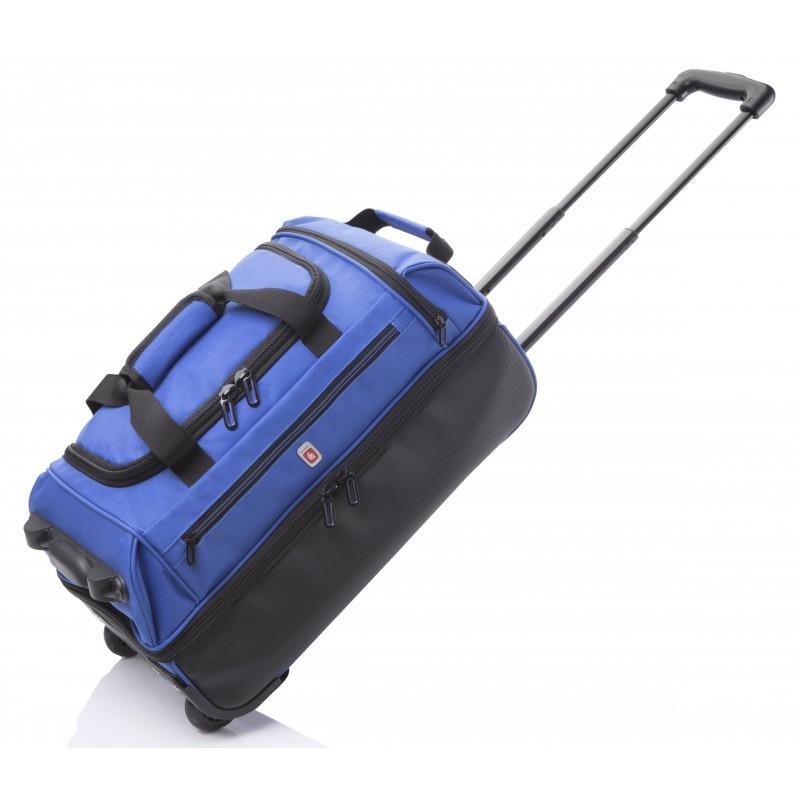 Gladiator TRICK Cestovní taška na kolečkách, S (Blue)