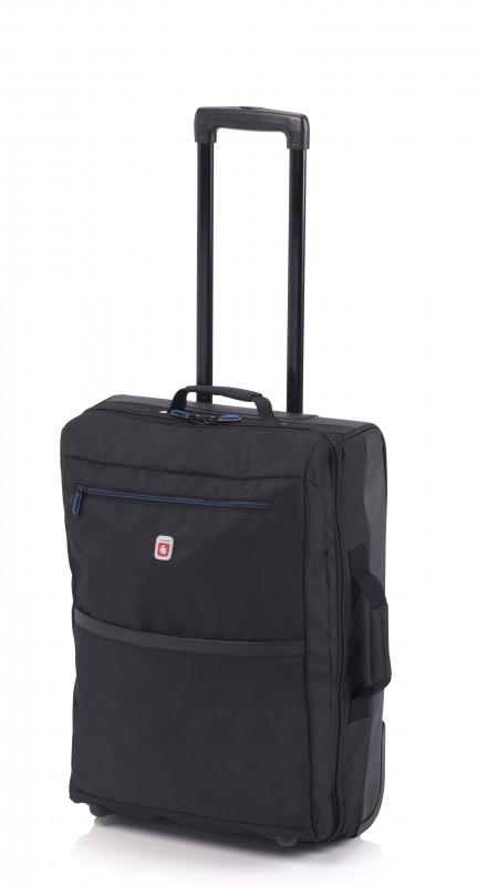 Gladiator TRICK Palubní kufr na kolečkách (Black)