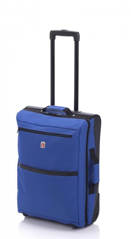 Gladiator TRICK Nylonový kufr na kolečkách (Blue)