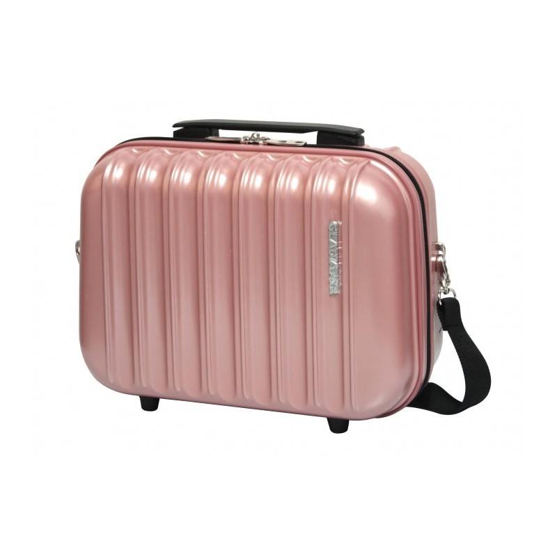 Gladiator NEON MATT Kosmetický kufřík PC (Pink)