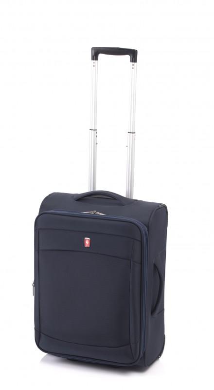 Gladiator SMART Rozšířitelný nylonový palubní kufr 55cm (Blue)