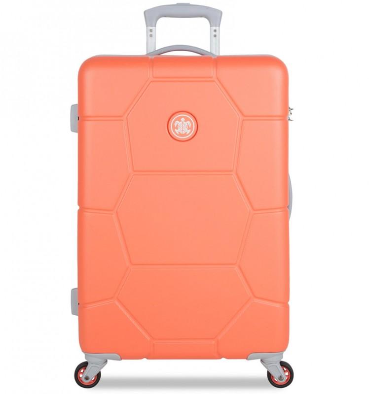 SuitSuit CARETTA Velký cestovní kufr z ABS 75 cm - Melon