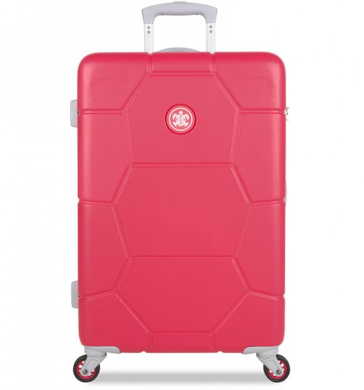 SuitSuit CARETTA Velký cestovní kufr z ABS 75 cm - Teaberry