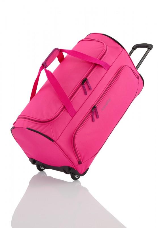 Travelite BASICS Cestovní taška na dvou kolečkách (Pink)