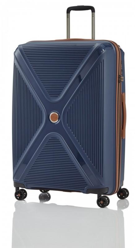 Titan PARADOXX Velký skořepinový kufr 77cm (Navy)