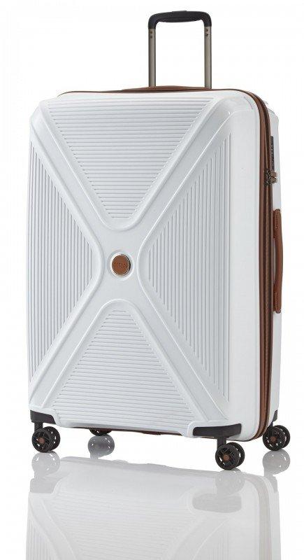 Titan PARADOXX Velký skořepinový kufr 77cm (White)