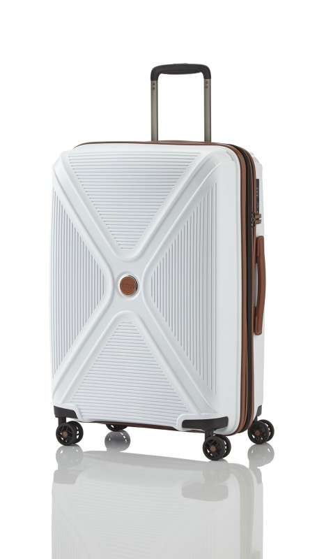 Titan PARADOXX Rozšířitelný skořepinový kufr 68cm (White)