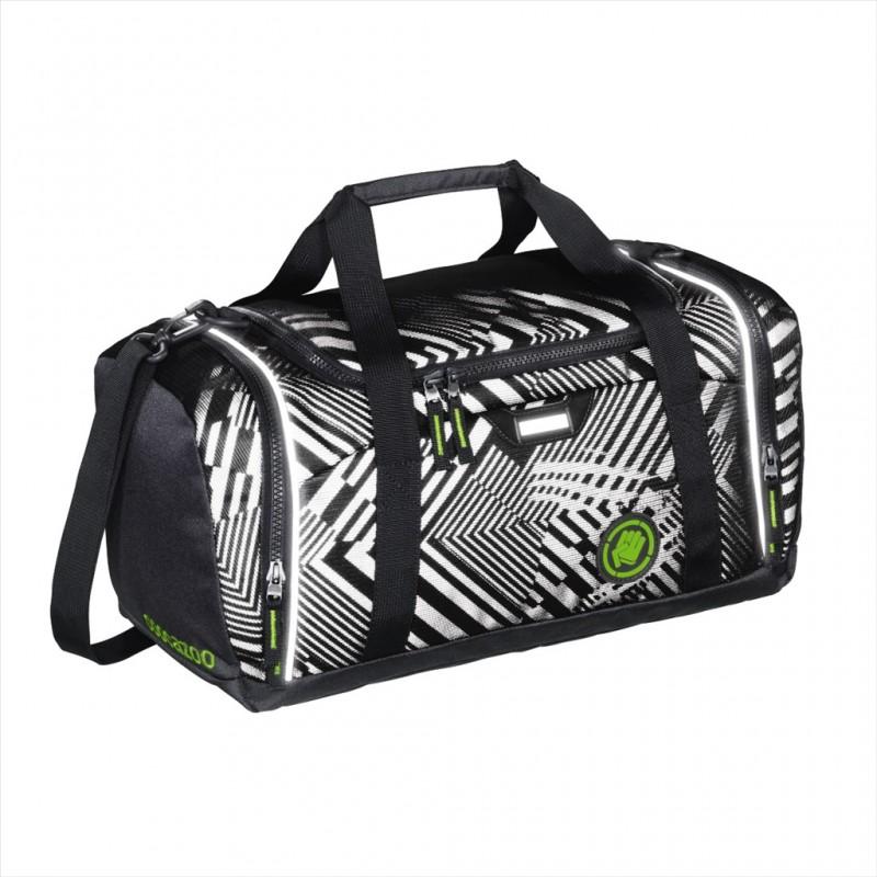 Coocazoo SPORTERPORTER Sportovní reflexní taška 42cm - Black Track