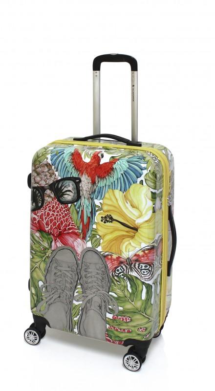 Gladiator TROPICANA Designový cestovní kufr 69cm