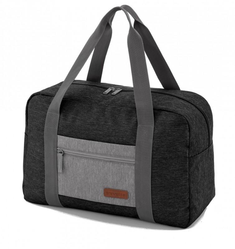 Travelite NEOPAK Palubní taška v retro stylu (Anthracite/grey)