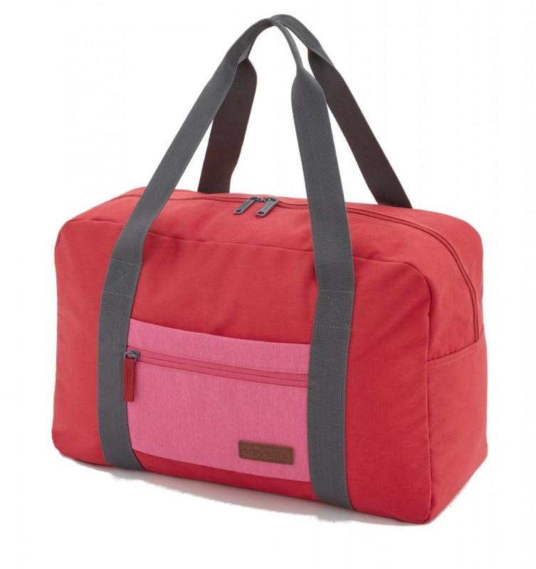 Travelite NEOPAK Palubní taška v retro stylu (Red/pink)