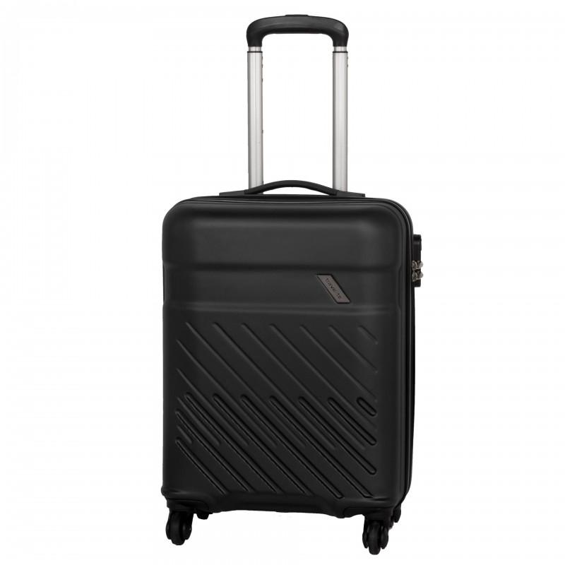 Travelite VINDA Skořepinový kufr z ABS 55cm (Black)